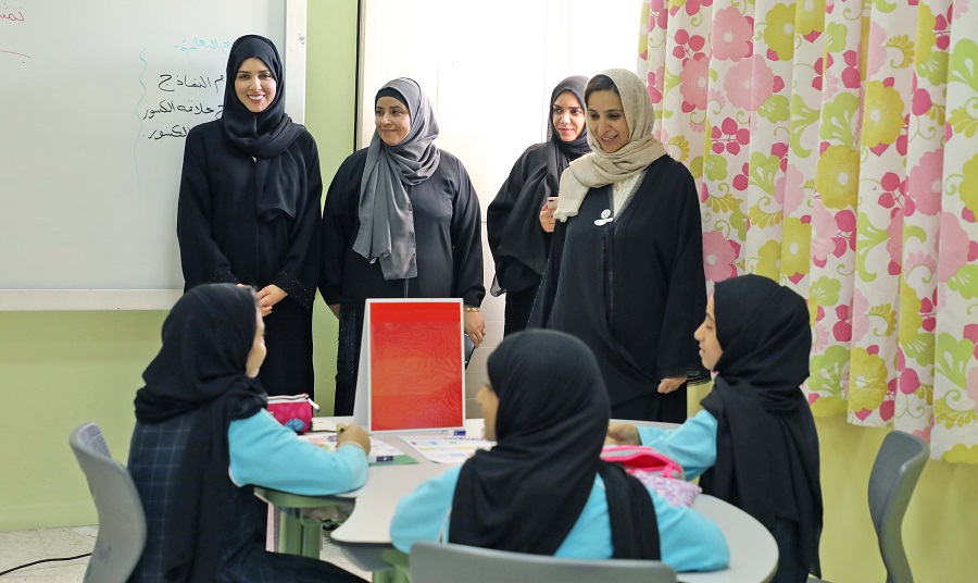 Jameela Al Muhairi We Are Keen To Communicate Effectively With The Field In Order To Achieve Our Educational Vision